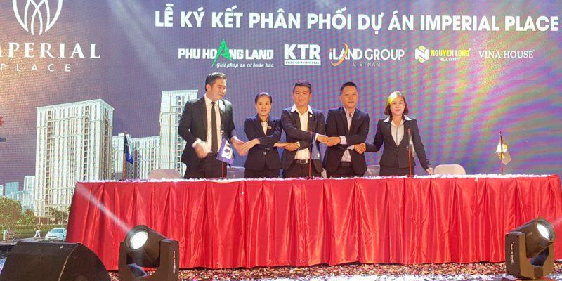 Lễ ký kết dự án Imperial Place Bình Tân
