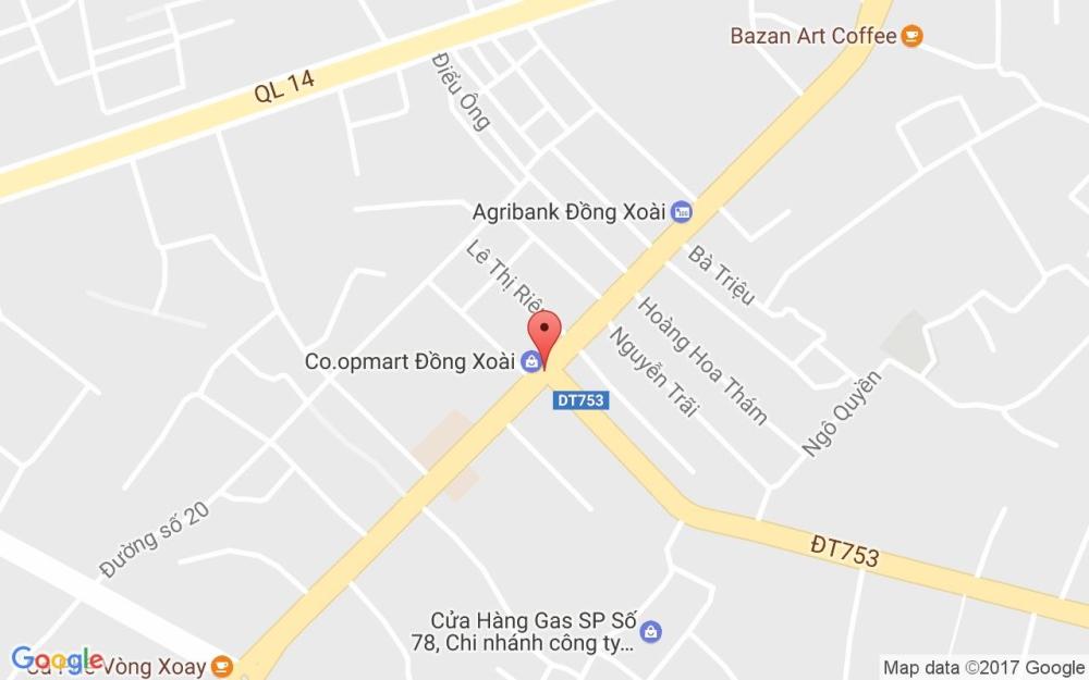 Siêu thị Co.opMart Đồng Xoài ở đâu ? 2