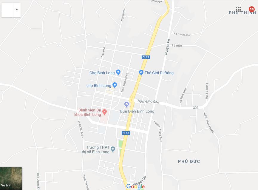 Vị trí khu dân cư Thanh Bình
