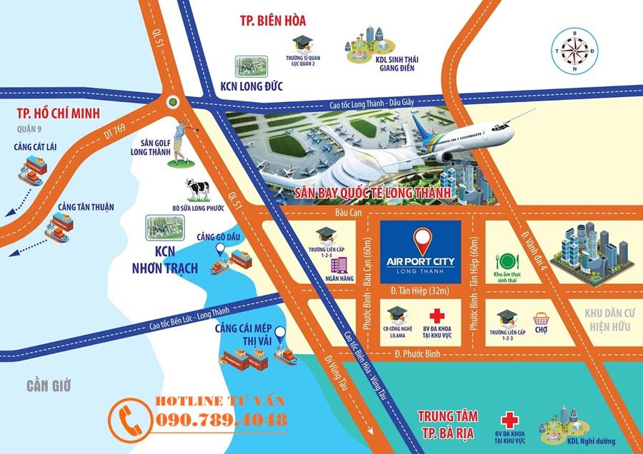 Dự Án Airport Long Thành Đồng Nai 1