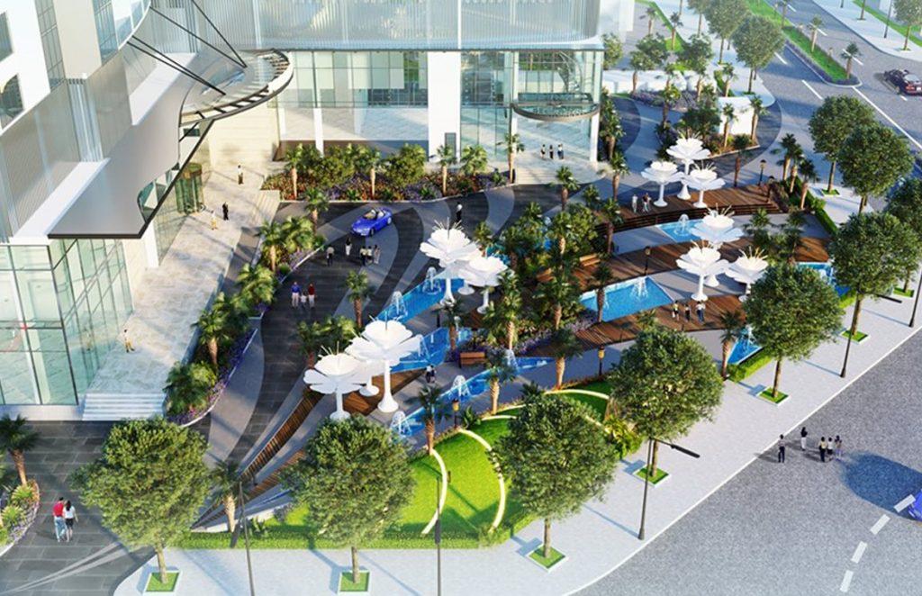 Công viên dự án Condotel Peninsula Nha Trang