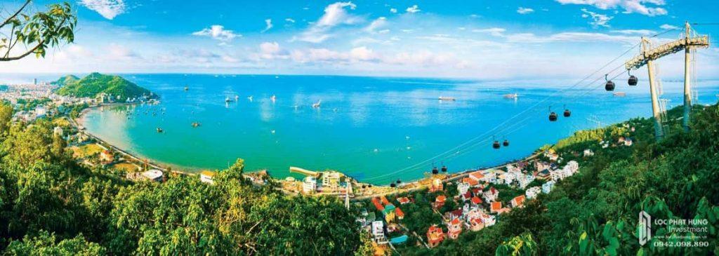Tọa lạc gần biển là điểm nổi bật của dự án The Sóng