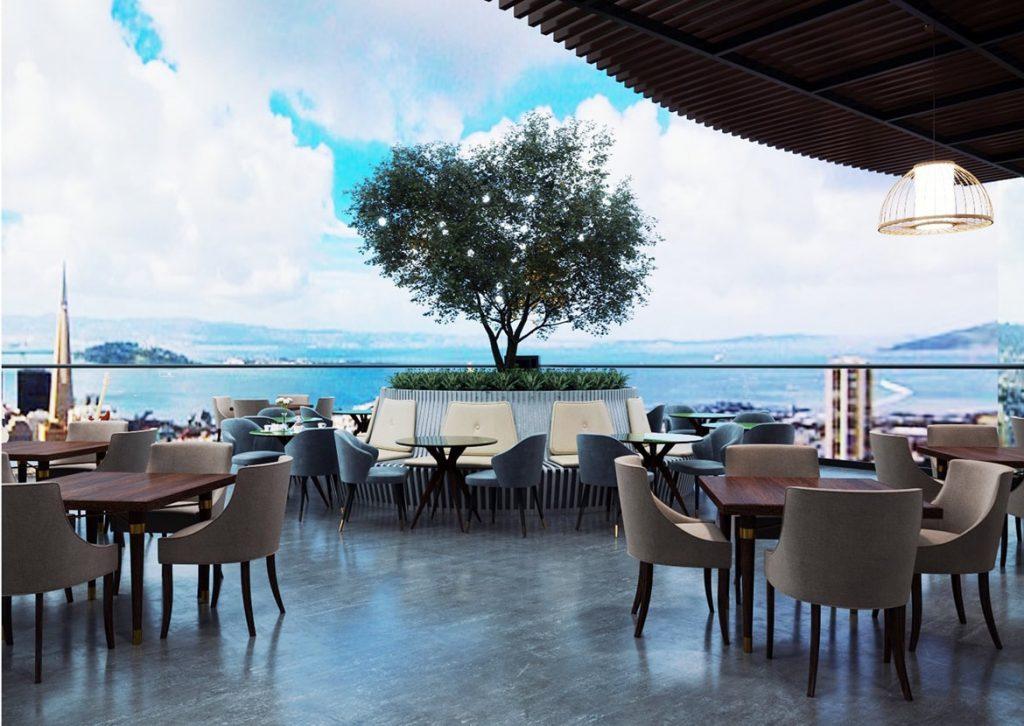 Nhà hàng ẩm thực ven biển tại Peninsula