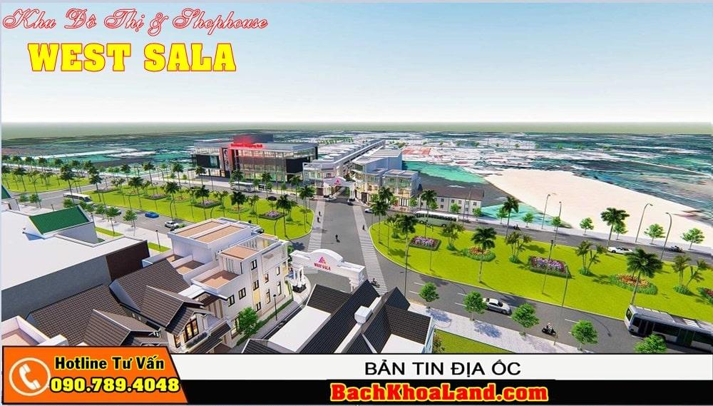 Dự án đất nền khu dân cư WEST SALA Bình Chánh 5