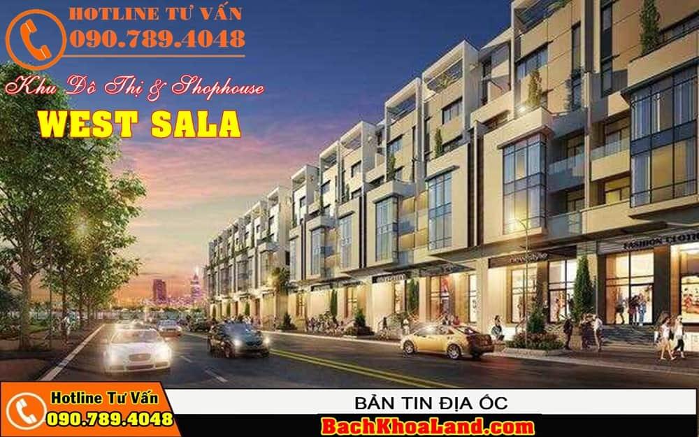 Dự án đất nền khu dân cư WEST SALA Bình Chánh 4