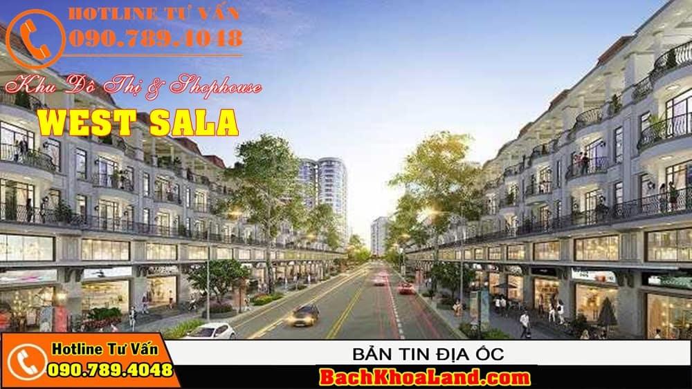 Dự án đất nền khu dân cư WEST SALA Bình Chánh 3