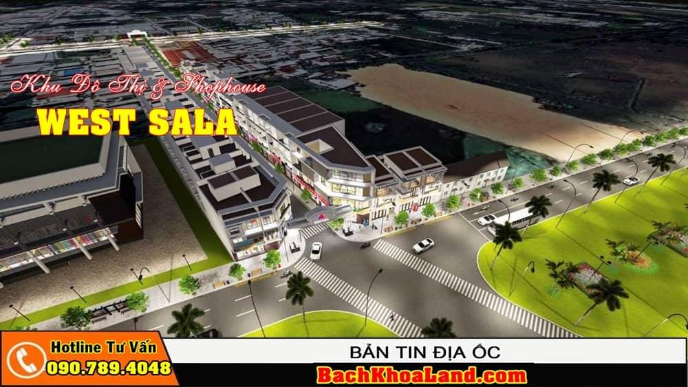 Dự án đất nền khu dân cư WEST SALA Bình Chánh 2