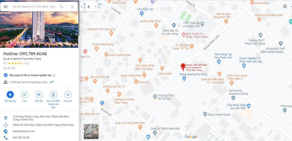 maps dự án imperium