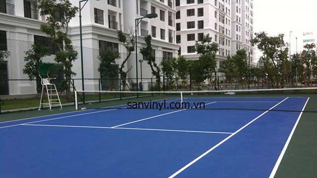 Sân thể thao đa năng hiện đại tại Sai Gon South Residence