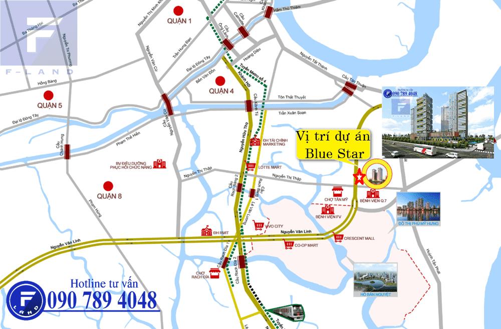 CĂN HỘ HƯNG PHÁT BLUE STAR QUẬN 7 1