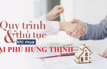 Quy trình đặt mua căn hộ Đại Phú Hưng Thịnh 15