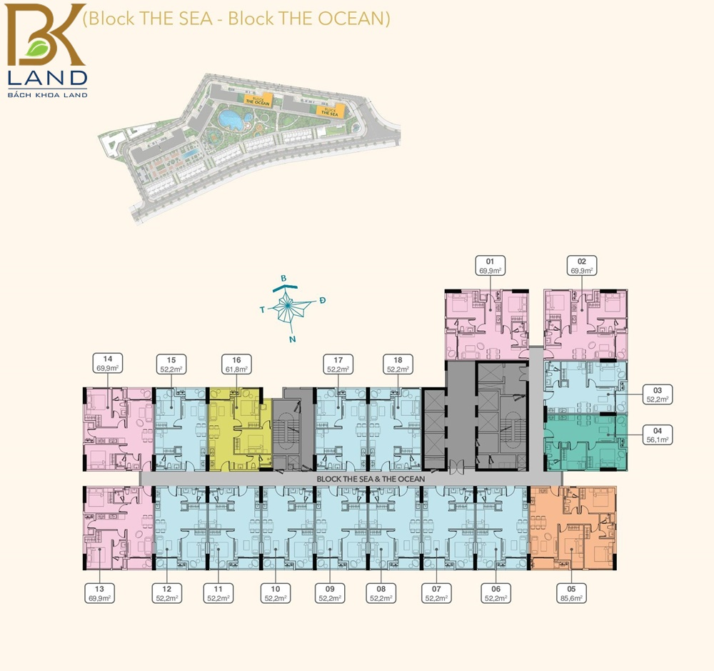 Dự án căn hộ Hồ Tràm Complex Bà Rịa Vũng Tàu 11