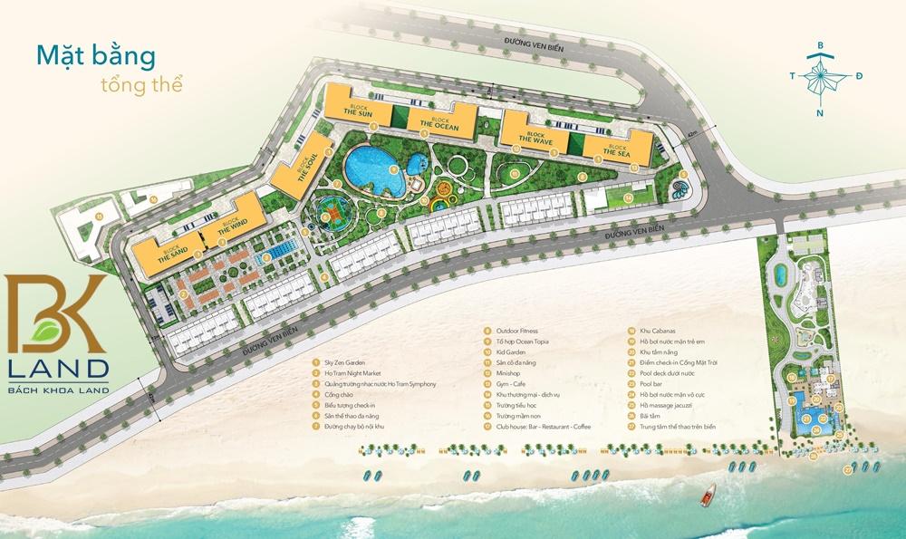 Dự án căn hộ Hồ Tràm Complex Bà Rịa Vũng Tàu 10