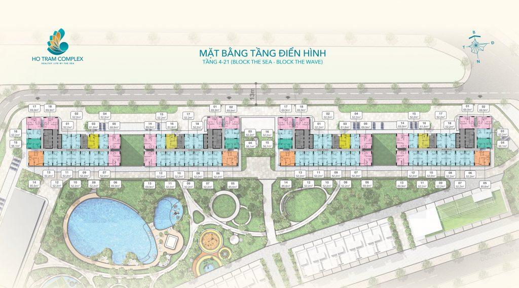 Dự án căn hộ Hồ Tràm Complex Bà Rịa Vũng Tàu 13