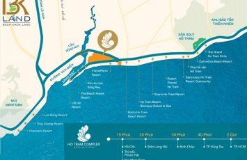 Bóc Tách Sự Thật Về Vị Trí Dự Án Hồ Tràm Complex 66