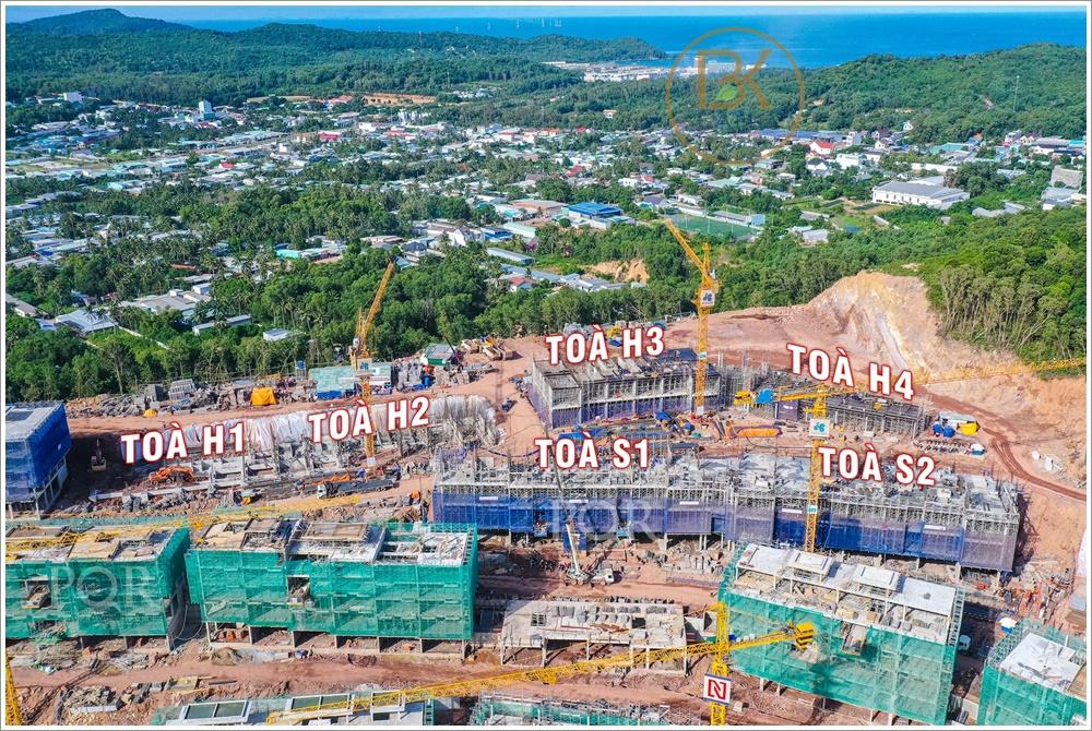 Cập nhật tiến độ dự án HillSide Phú Quốc ngày 17/08/2021 2