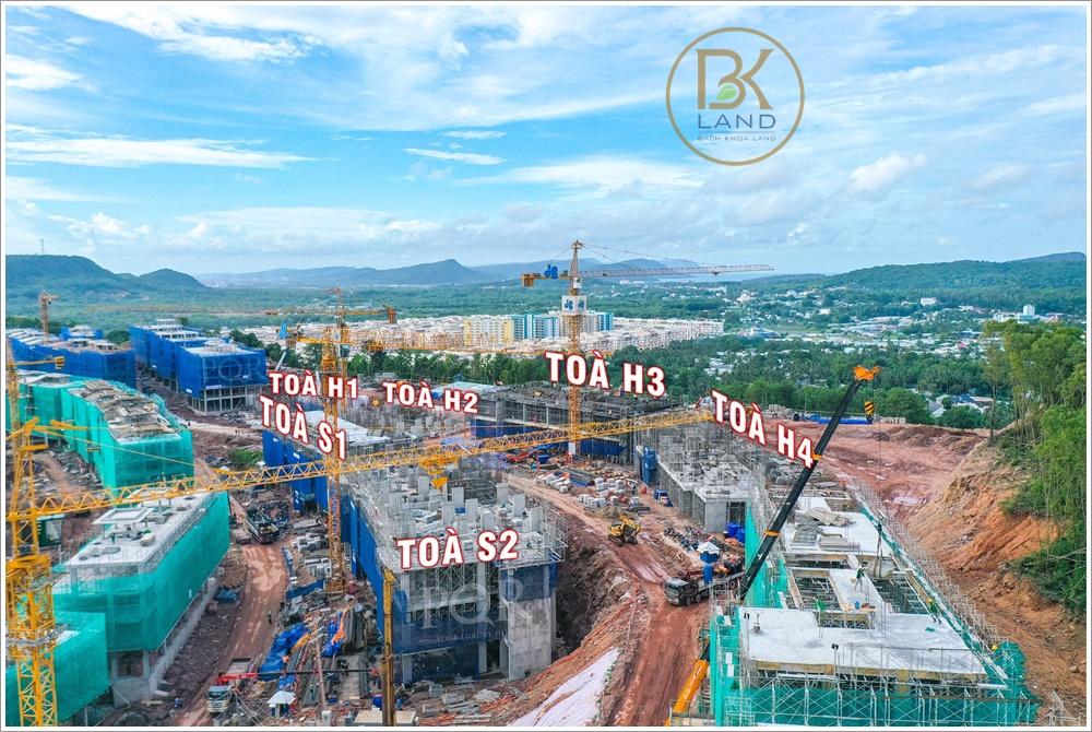 Cập nhật tiến độ dự án HillSide Phú Quốc ngày 17/08/2021 1