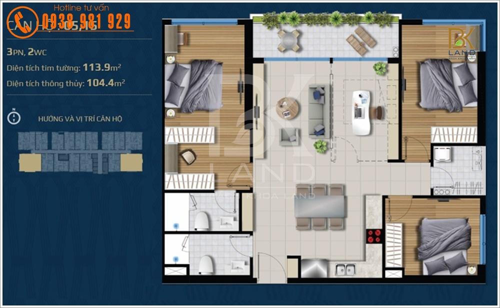 Dự án căn hộ River Panorama Quận 7 13
