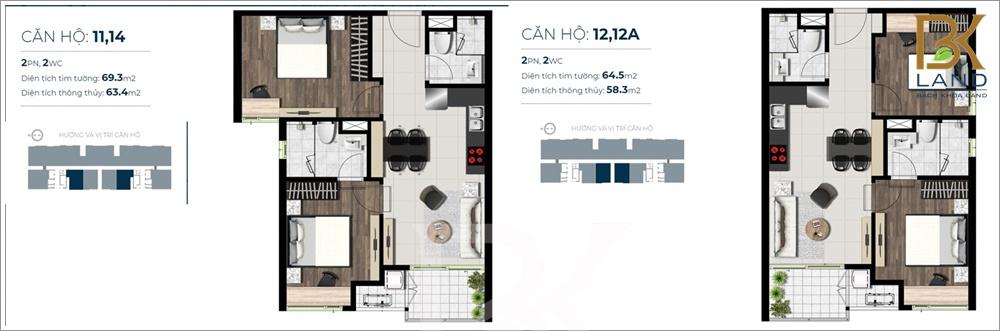 Dự án căn hộ Sky 89 Quận 7 14