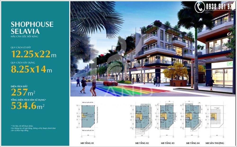 Dự án khu phức hợp SELAVIA Phú Quốc | Chính Sách & Bảng Giá 4