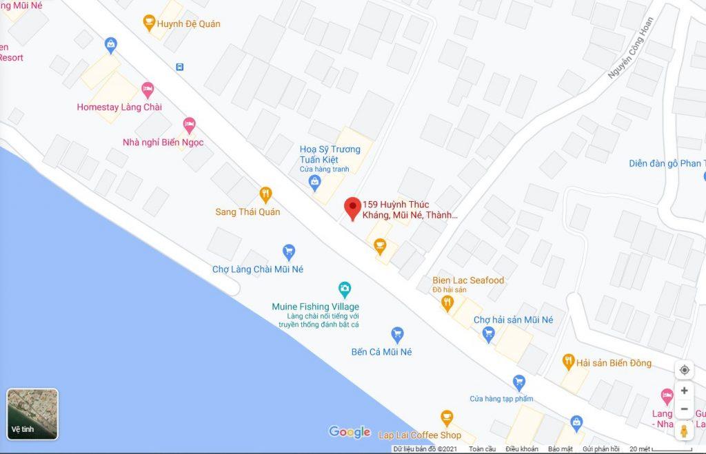 Bán nhà hẻm 159 Huỳnh Thúc Kháng Mũi Né Phan Thiết 1