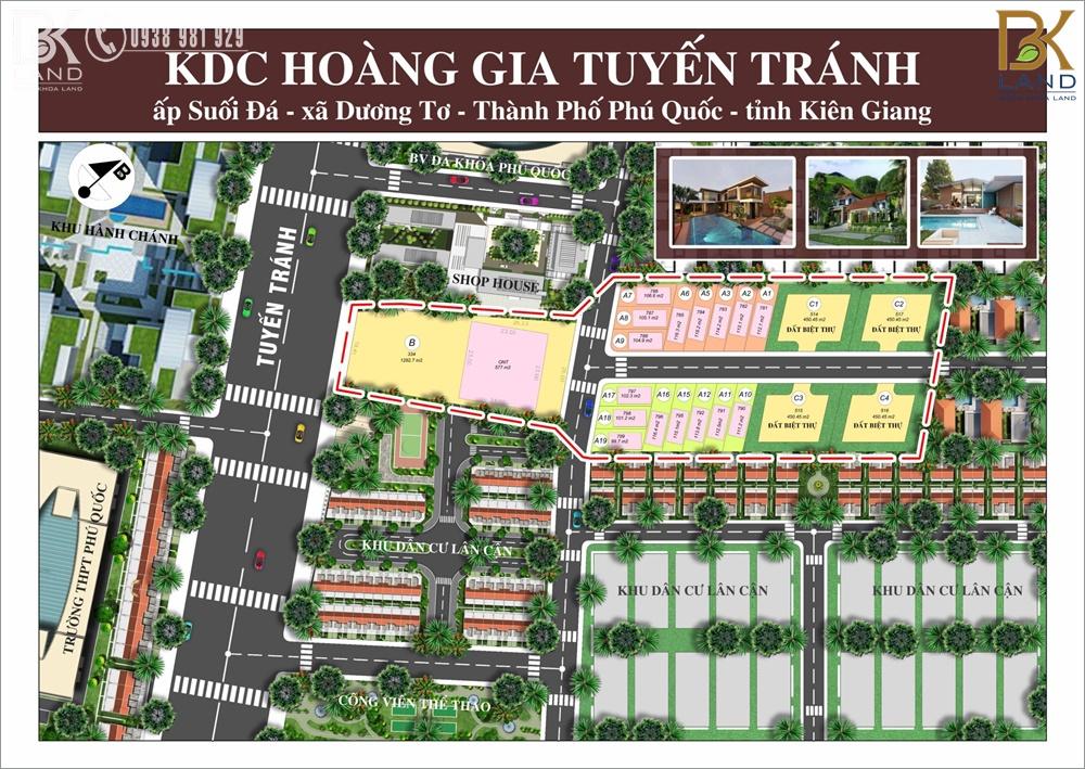Dự án đất nền KDC Hoàng Gia Tuyến Tránh Phú Quốc 11