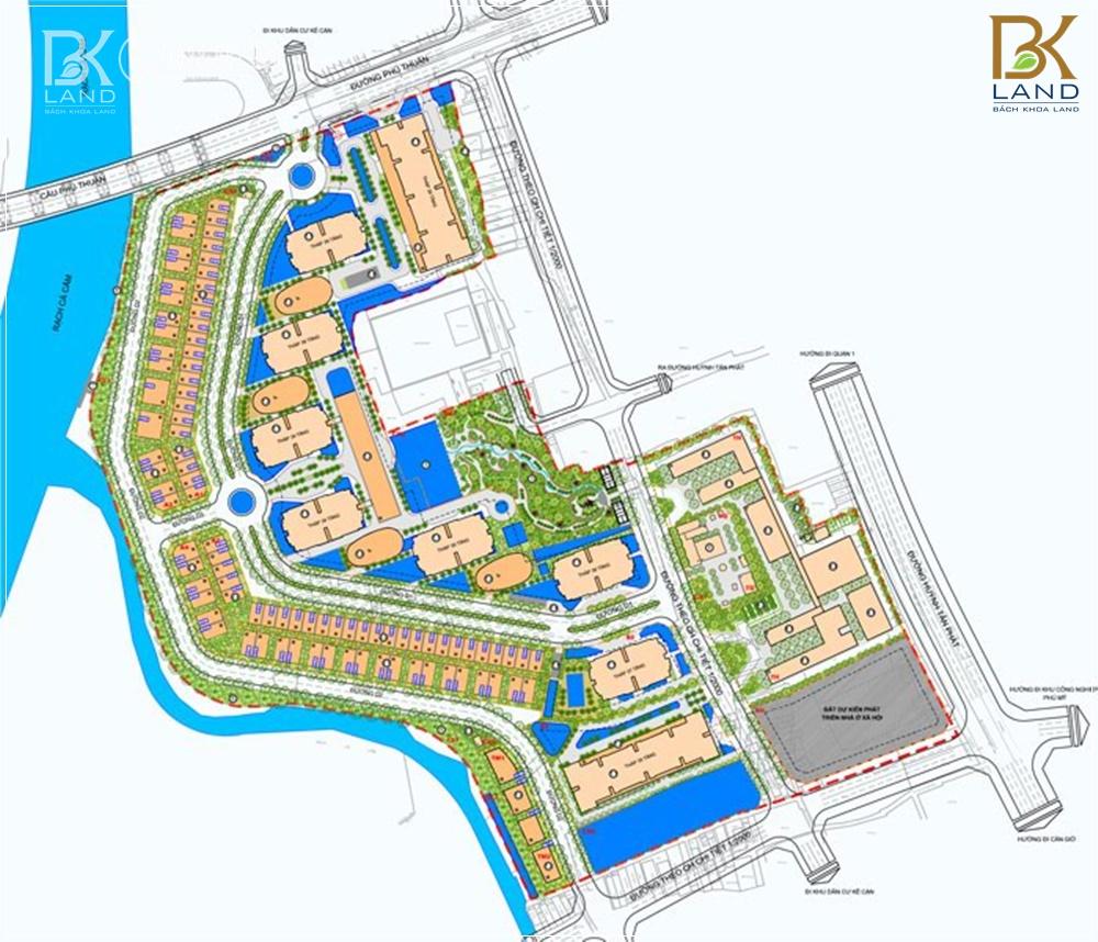 Dự án bất động sản Hồ Chí Minh 1