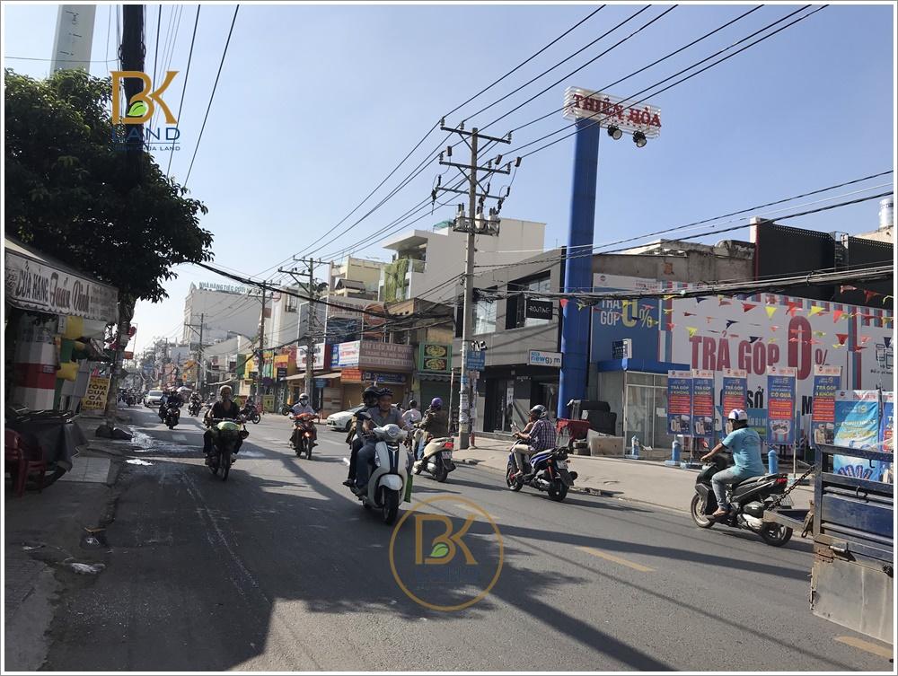 Cho thuê tầng trệt toà nhà 659 Âu Cơ Phường Tân Thạnh Quận Tân Phú 4