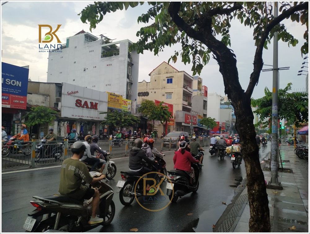 Cho thuê nhà 789 Lũy Bán Bích Phường Tân Thành Quận Tân Phú 2