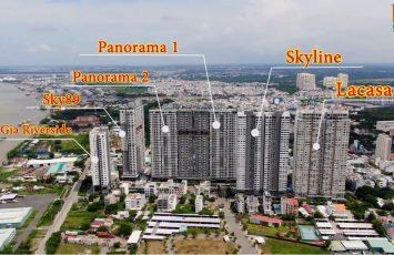 Danh sách dự án căn hộ khu phức hợp La Casa Quận 7 8