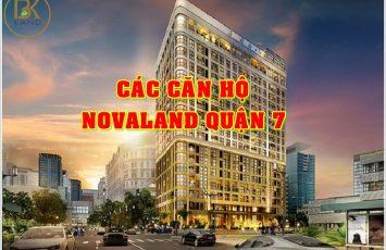 Danh sách dự án căn hộ Novaland Quận 7 111