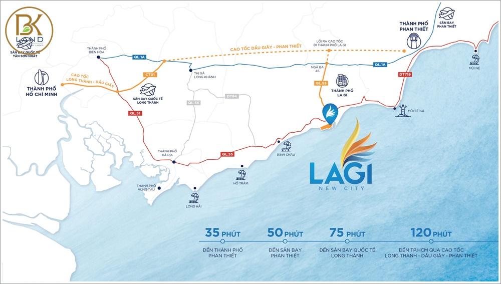 Bóc tách sự thật về vị trí dự án Lagi New City Bình Thuận 3