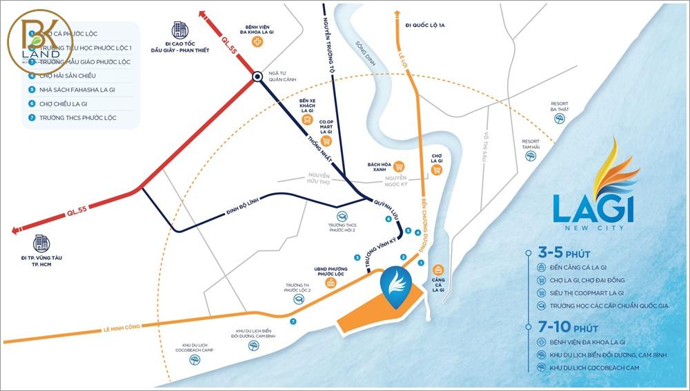 Bóc tách sự thật về vị trí dự án Lagi New City Bình Thuận 4